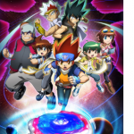 Beyblade Metal Fury – Sixth season of the Beyblade anime