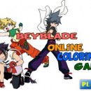 Click to play Beyblade Online Coloring Game