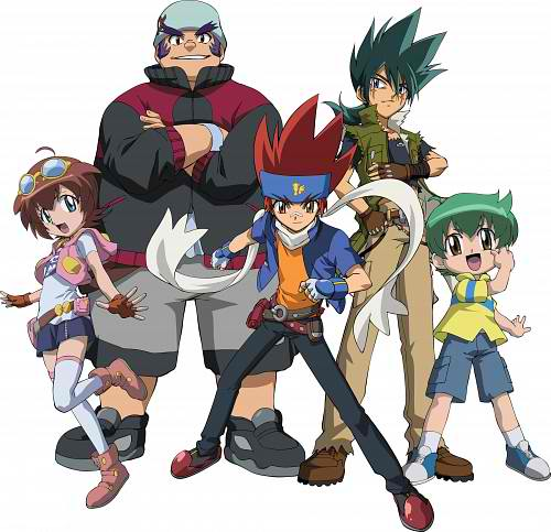 Beyblade Metal Fusion Characters